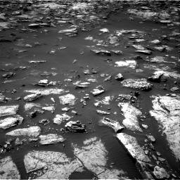 Nasa's Mars rover Curiosity acquired this image using its Right Navigation Camera on Sol 1503, at drive 3156, site number 58