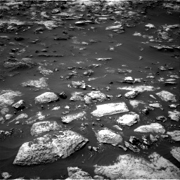 Nasa's Mars rover Curiosity acquired this image using its Right Navigation Camera on Sol 1503, at drive 3168, site number 58
