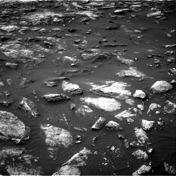 Nasa's Mars rover Curiosity acquired this image using its Right Navigation Camera on Sol 1503, at drive 3180, site number 58