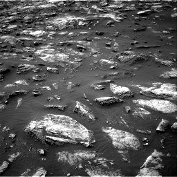 Nasa's Mars rover Curiosity acquired this image using its Right Navigation Camera on Sol 1503, at drive 3192, site number 58