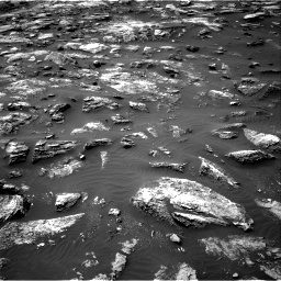 Nasa's Mars rover Curiosity acquired this image using its Right Navigation Camera on Sol 1503, at drive 3198, site number 58