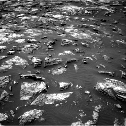 Nasa's Mars rover Curiosity acquired this image using its Right Navigation Camera on Sol 1503, at drive 3204, site number 58