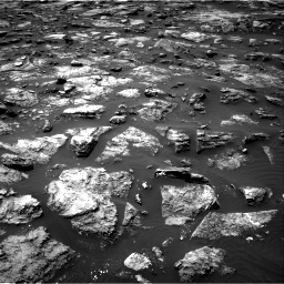 Nasa's Mars rover Curiosity acquired this image using its Right Navigation Camera on Sol 1503, at drive 3210, site number 58