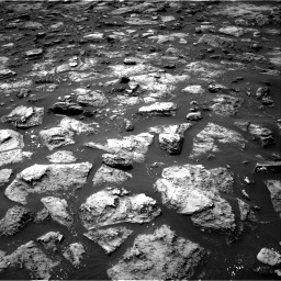 Nasa's Mars rover Curiosity acquired this image using its Right Navigation Camera on Sol 1503, at drive 3216, site number 58