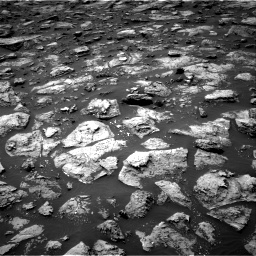 Nasa's Mars rover Curiosity acquired this image using its Right Navigation Camera on Sol 1503, at drive 3222, site number 58