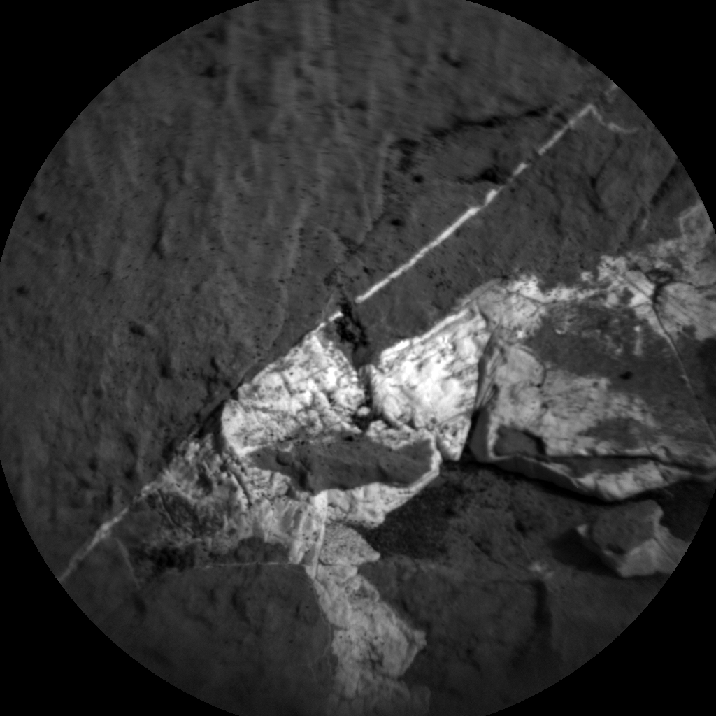 Nasa's Mars rover Curiosity acquired this image using its Chemistry & Camera (ChemCam) on Sol 1504, at drive 0, site number 59