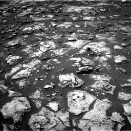 NASA's Mars rover Curiosity acquired this image using its Left Navigation Camera (Navcams) on Sol 1506
