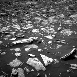 Nasa's Mars rover Curiosity acquired this image using its Left Navigation Camera on Sol 1506, at drive 264, site number 59