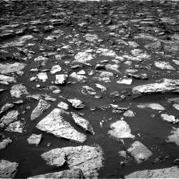 Nasa's Mars rover Curiosity acquired this image using its Left Navigation Camera on Sol 1506, at drive 276, site number 59