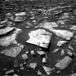 Nasa's Mars rover Curiosity acquired this image using its Left Navigation Camera on Sol 1506, at drive 300, site number 59