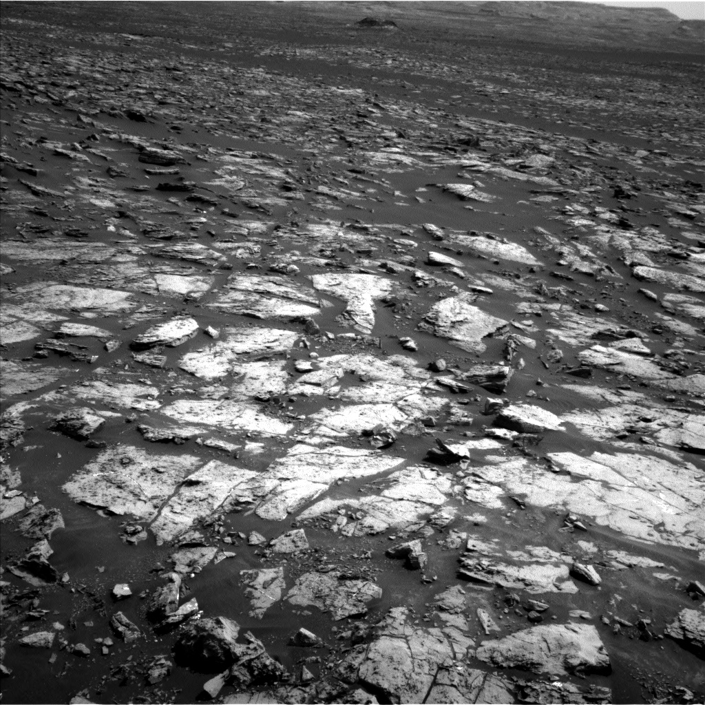 Nasa's Mars rover Curiosity acquired this image using its Left Navigation Camera on Sol 1506, at drive 372, site number 59