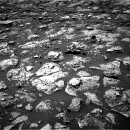 Nasa's Mars rover Curiosity acquired this image using its Right Navigation Camera on Sol 1506, at drive 0, site number 59