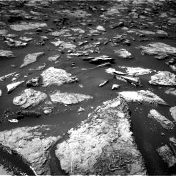 Nasa's Mars rover Curiosity acquired this image using its Right Navigation Camera on Sol 1506, at drive 66, site number 59
