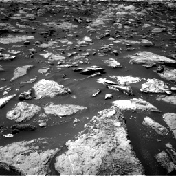 Nasa's Mars rover Curiosity acquired this image using its Right Navigation Camera on Sol 1506, at drive 72, site number 59