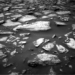Nasa's Mars rover Curiosity acquired this image using its Right Navigation Camera on Sol 1506, at drive 84, site number 59