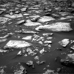 Nasa's Mars rover Curiosity acquired this image using its Right Navigation Camera on Sol 1506, at drive 90, site number 59