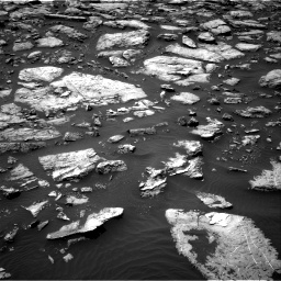Nasa's Mars rover Curiosity acquired this image using its Right Navigation Camera on Sol 1506, at drive 114, site number 59