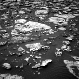 Nasa's Mars rover Curiosity acquired this image using its Right Navigation Camera on Sol 1506, at drive 120, site number 59