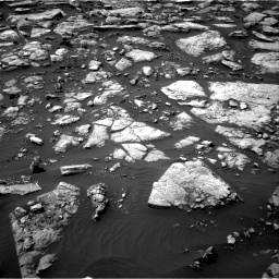 Nasa's Mars rover Curiosity acquired this image using its Right Navigation Camera on Sol 1506, at drive 144, site number 59