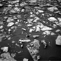 Nasa's Mars rover Curiosity acquired this image using its Right Navigation Camera on Sol 1506, at drive 150, site number 59