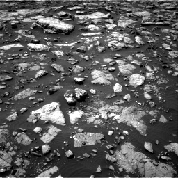 Nasa's Mars rover Curiosity acquired this image using its Right Navigation Camera on Sol 1506, at drive 162, site number 59