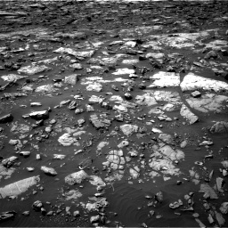 Nasa's Mars rover Curiosity acquired this image using its Right Navigation Camera on Sol 1506, at drive 192, site number 59