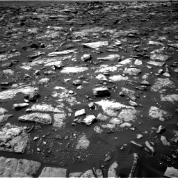 Nasa's Mars rover Curiosity acquired this image using its Right Navigation Camera on Sol 1506, at drive 216, site number 59