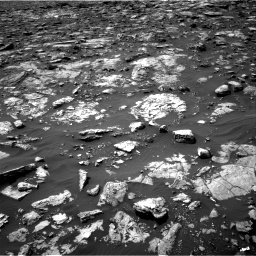 Nasa's Mars rover Curiosity acquired this image using its Right Navigation Camera on Sol 1506, at drive 252, site number 59