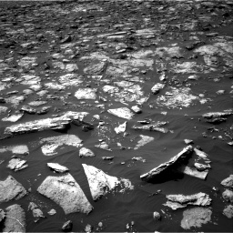 Nasa's Mars rover Curiosity acquired this image using its Right Navigation Camera on Sol 1506, at drive 264, site number 59