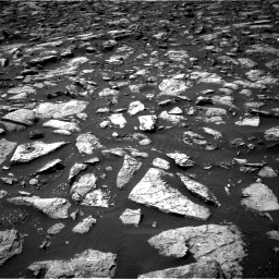 Nasa's Mars rover Curiosity acquired this image using its Right Navigation Camera on Sol 1506, at drive 282, site number 59