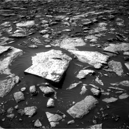 Nasa's Mars rover Curiosity acquired this image using its Right Navigation Camera on Sol 1506, at drive 300, site number 59