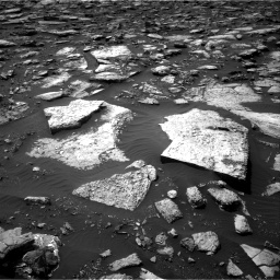 Nasa's Mars rover Curiosity acquired this image using its Right Navigation Camera on Sol 1506, at drive 306, site number 59