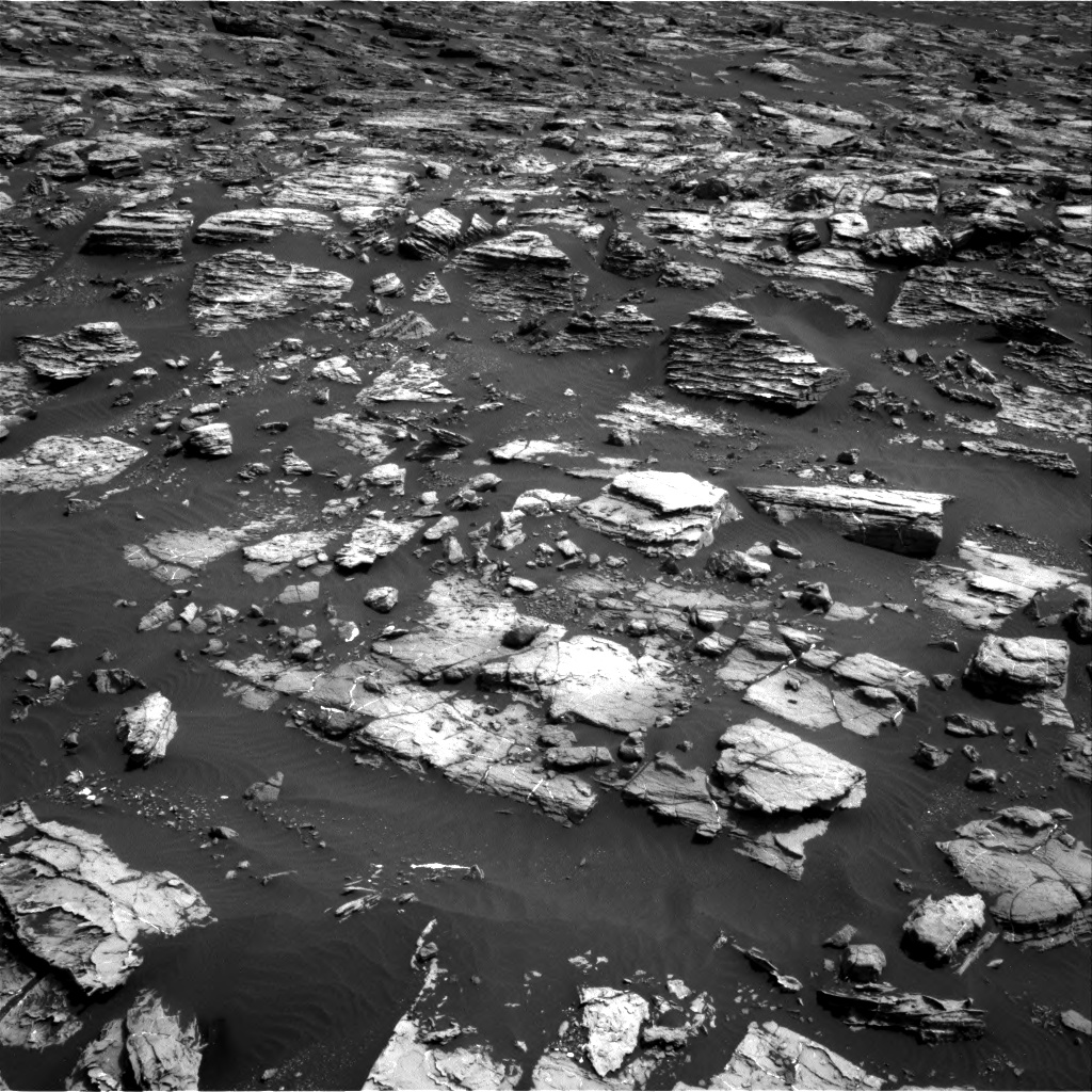 Nasa's Mars rover Curiosity acquired this image using its Right Navigation Camera on Sol 1506, at drive 336, site number 59