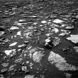 Nasa's Mars rover Curiosity acquired this image using its Right Navigation Camera on Sol 1506, at drive 342, site number 59