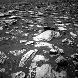 Nasa's Mars rover Curiosity acquired this image using its Right Navigation Camera on Sol 1506, at drive 360, site number 59