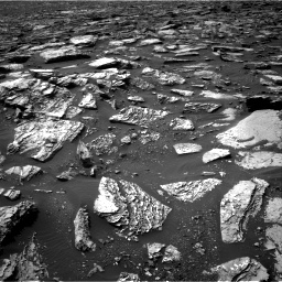 Nasa's Mars rover Curiosity acquired this image using its Right Navigation Camera on Sol 1506, at drive 366, site number 59