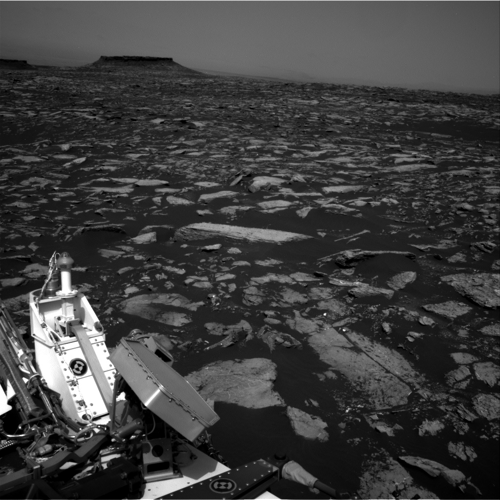 Nasa's Mars rover Curiosity acquired this image using its Right Navigation Camera on Sol 1506, at drive 372, site number 59