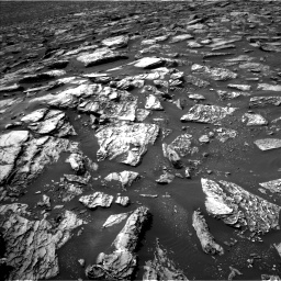 Nasa's Mars rover Curiosity acquired this image using its Left Navigation Camera on Sol 1507, at drive 372, site number 59