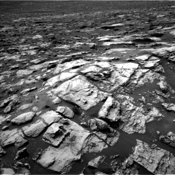 Nasa's Mars rover Curiosity acquired this image using its Left Navigation Camera on Sol 1507, at drive 384, site number 59
