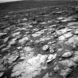 Nasa's Mars rover Curiosity acquired this image using its Left Navigation Camera on Sol 1507, at drive 396, site number 59