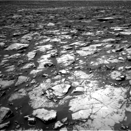 Nasa's Mars rover Curiosity acquired this image using its Left Navigation Camera on Sol 1507, at drive 402, site number 59