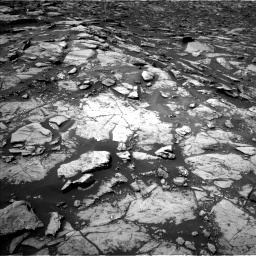 Nasa's Mars rover Curiosity acquired this image using its Left Navigation Camera on Sol 1507, at drive 456, site number 59
