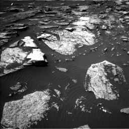 Nasa's Mars rover Curiosity acquired this image using its Left Navigation Camera on Sol 1507, at drive 528, site number 59