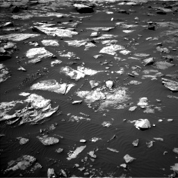 Nasa's Mars rover Curiosity acquired this image using its Left Navigation Camera on Sol 1507, at drive 564, site number 59