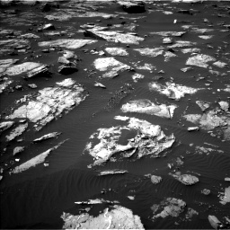 Nasa's Mars rover Curiosity acquired this image using its Left Navigation Camera on Sol 1507, at drive 570, site number 59