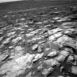 Nasa's Mars rover Curiosity acquired this image using its Right Navigation Camera on Sol 1507, at drive 396, site number 59