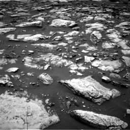 Nasa's Mars rover Curiosity acquired this image using its Right Navigation Camera on Sol 1507, at drive 432, site number 59