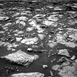 Nasa's Mars rover Curiosity acquired this image using its Right Navigation Camera on Sol 1507, at drive 438, site number 59