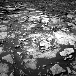 Nasa's Mars rover Curiosity acquired this image using its Right Navigation Camera on Sol 1507, at drive 468, site number 59