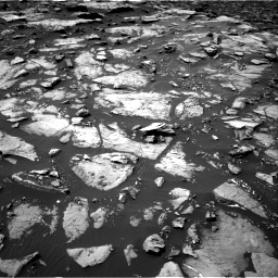 Nasa's Mars rover Curiosity acquired this image using its Right Navigation Camera on Sol 1507, at drive 480, site number 59